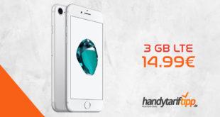 APPLE iPhone 7 mit 3 GB LTE nur 14,99€