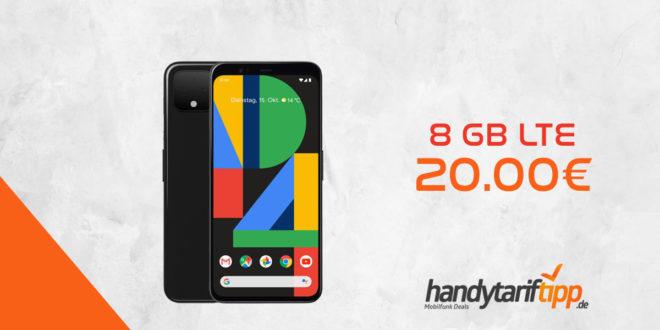 Google Pixel 4 mit 8 GB LTE im Telekom Netz nur 20€