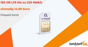 150 GB LTE für 14,99 Euro und 28 Tage