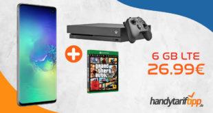 Samsung Galaxy S10 & Xbox One X 1 TB & GTA 5 (Premium Edition) im Telekom oder im Vodafone Netz nur 26,99€ mtl.