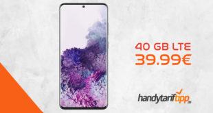 Galaxy S20+ [S20Plus] mit 40 GB LTE nur 39,99€
