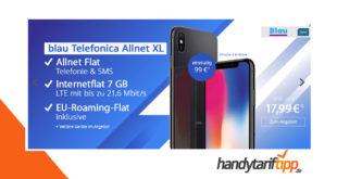 iPhone X B-Ware mit 7 GB LTE nur 17,99€