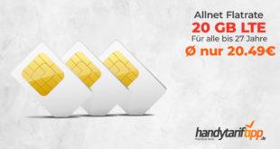 20 GB im Vodafone Netz nur 20,49€