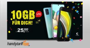 Apple iPhone SE (2020) mit 10 GB LTE im Telekom Netz nur 25€