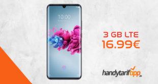 ZTE Axon 11 4G mit 3 GB LTE nur 16,99€