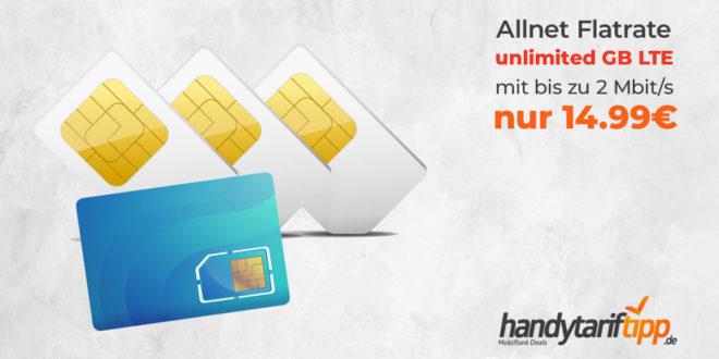 o2 Free Unlimited Basic nur 14,99€