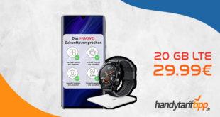 Huawei P30 Pro New Edition mit gratis Smartwatch und Waage & 20 GB LTE nur 29,99€ mtl.