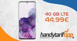 SAMSUNG Galaxy S20+ [S20Plus] mit 40 GB LTE nur 44,99€