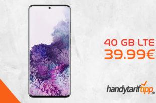 SAMSUNG Galaxy S20+ [S20Plus] mit 40 GB LTE nur 39,99€