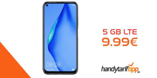 HUAWEI P40 lite mit 5 GB LTE nur 9,99€