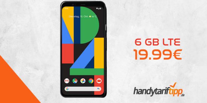 GOOGLE Pixel 4 mit 6 GB LTE nur 19,99€