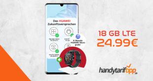 HUAWEI P30 Pro & HUAWEI Watch GT und HUAWEI Körperfettwaage mit 18 GB LTE nur 24,99€
