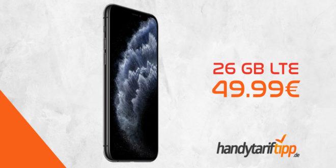 APPLE iPhone 11 Pro mit 26 GB LTE nur 49,99€