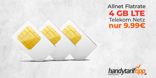4 GB LTE Allnet Flat im D1-Netz der Telekom nur 9,99€