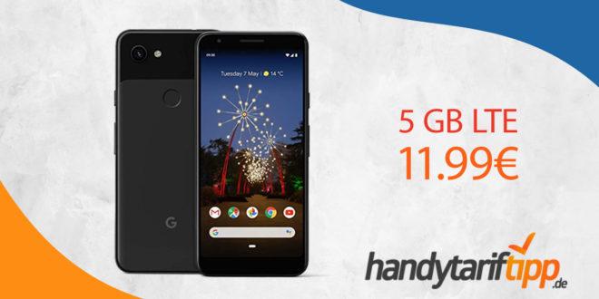 Google Pixel 3a mit 5 GB LTE nur 11,99€