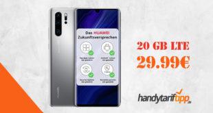 Huawei P30 Pro New Edition mit Vertrag O2 Free M mit 20 GB nur 29,99€