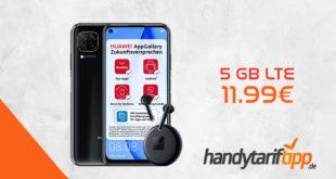 Huawei P40 Lite & Huawei Freebuds 3 mit 5 GB LTE nur 11,99€ - effektiv unter 1€ monatlich