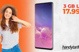 SAMSUNG Galaxy S10 Dual-SIM mit 3 GB LTE nur 17,99€