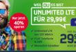 Unlimited LTE für nur 29,99€ - monatlich kündbar