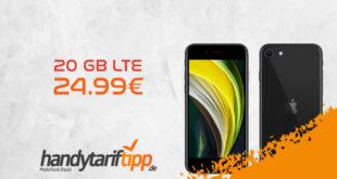 Apple iPhone SE 2020 mit 20 GB LTE nur 24,99€