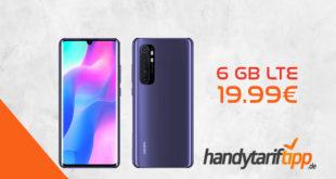 Xiaomi Mi Note 10 lite mit 6 GB LTE nur 19,99€