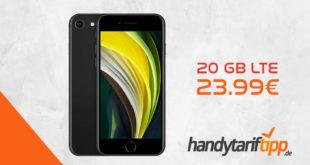 Apple iPhone SE (2020) mit 20 GB LTE nur 23,99€