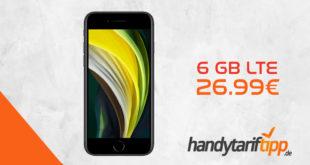 Apple iPhone SE 2020 mit 6 GB LTE nur 26,99€