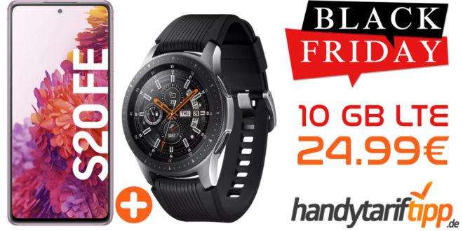 SAMSUNG GALAXY S20 FE & SAMSUNG Galaxy Watch mit 10 GB LTE im Vodafone Netz nur 24,99€ monatlich