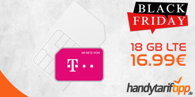 SIM Only Knaller im Telekom Netz - 18 GB LTE nur 16,99€