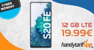 Cyber Week - Samsung Galaxy S20 FE mit 12 GB LTE nur 19,99€