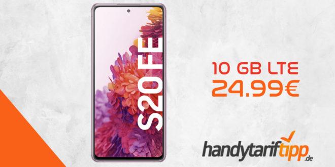 Samsung Galaxy S20 FE mit 10 GB LTE im Vodafone Netz nur 24,99€