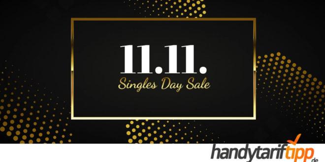 Super-Angebote zum Singles Day bei LogiTel - z.B. Oppo Reno4 Z 5G mit 5 GB LTE nur 14,99€