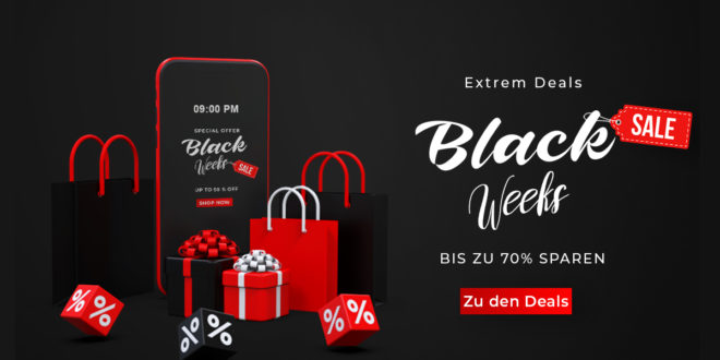 Black Weeks - Extrem Deals bei smarttarif24