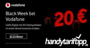 MEGA Prepaid Highlight: Vodafone CallYa Digital 4 Wochen kostenlos - 10 GB LTE & Allnet Flat - kein Vertrag