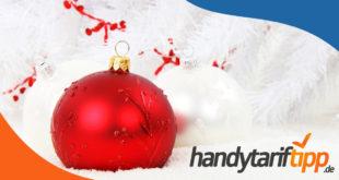 Frohe Weihnachten wünscht HandyTarifTipp.de