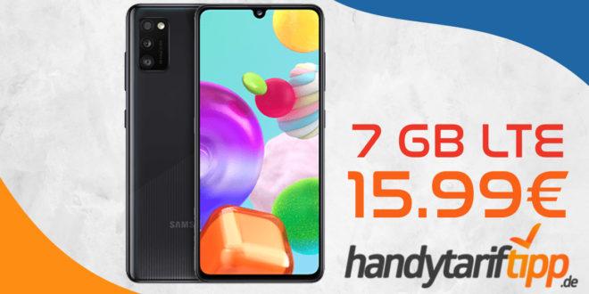 Samsung Galaxy A41 mit 7 GB LTE für nur 15,99€ monatlich (statt 18,99€ monatlich)