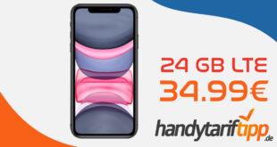 APPLE IPHONE 11 mit 24GB LTE im Telekom Netz nur 34,99€ monatlich