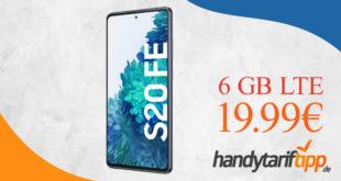 Samsung Galaxy S20 FE mit 6 GB LTE im Vodafone Netz nur 19,99€ monatlich