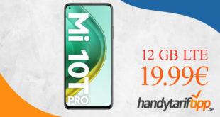 XIAOMI MI 10T PRO 5G mit 12 GB LTE für nur 19,99€ monatlich