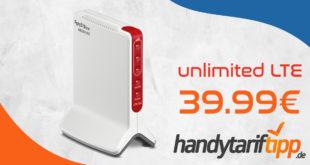 o2 Free unlimited Max (monatlich kündbar) für 39,99€ monatlich und die AVM FRITZ!Box 6820 LTE für einmalig 49,99€