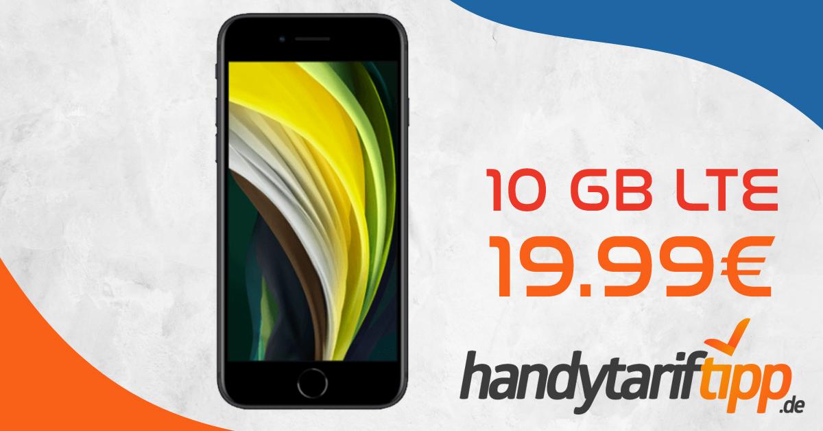 Apple iPhone SE 2020 mit 10 GB LTE nur 19,99€ monatlich ...
