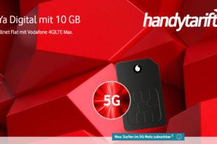 CallYa Digital Aktion - 3 x 10 GB LTE & Allnet Flatrate für 12 Wochen komplett kostenlos - kein Anschlusspreis - keine Versandkosten