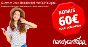 CallYa Digital 3 x 10 GB LTE & Allnet Flat komplett kostenlos