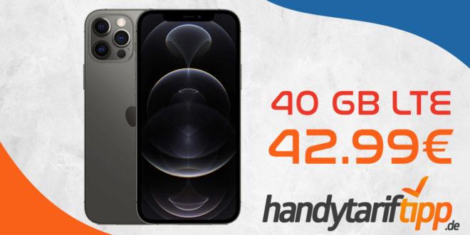 Apple iPhone 12 Pro 5G mit 40 GB LTE 5G im Vodafone Netz nur 42,99€ monatlich - nur 189 Euro Zuzahlung