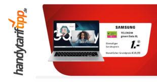 Samsung Galaxy Book Go LTE mit 25 GB LTE im Telekom Netz nur 19,99€ monatlich